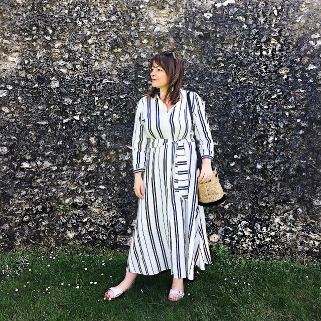 Linen Dress from Zara