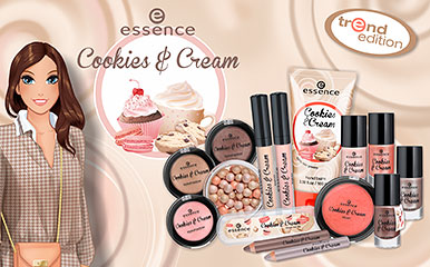 Essence - Cookies & Cream ( edycja limitowana )