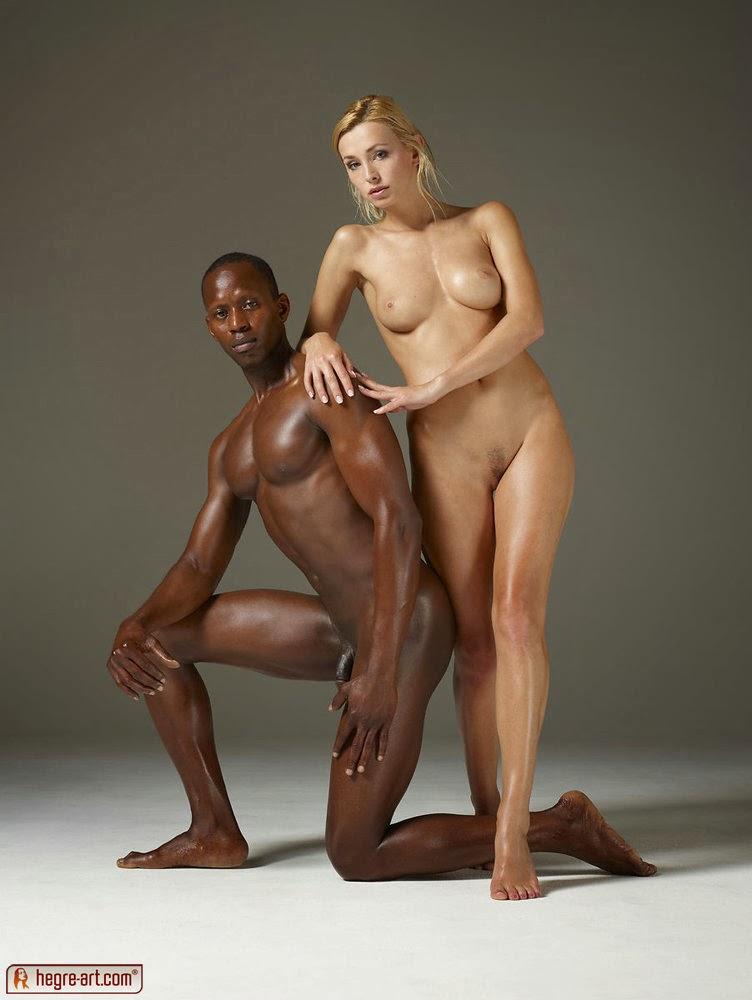 interracial nude art