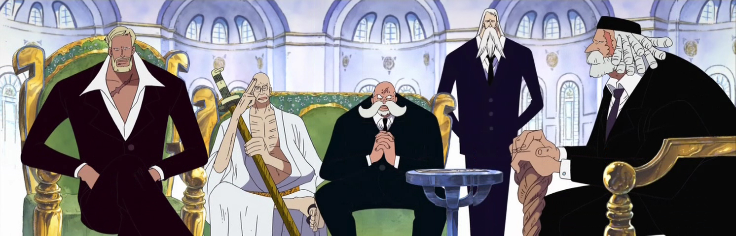 ALL ONE PIECE CHARACTER THAT KNOW ABOUT ANCIENT WEAPON PLUTON