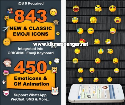 Emoticones con Emoji 3 Emoticons para el iPhone