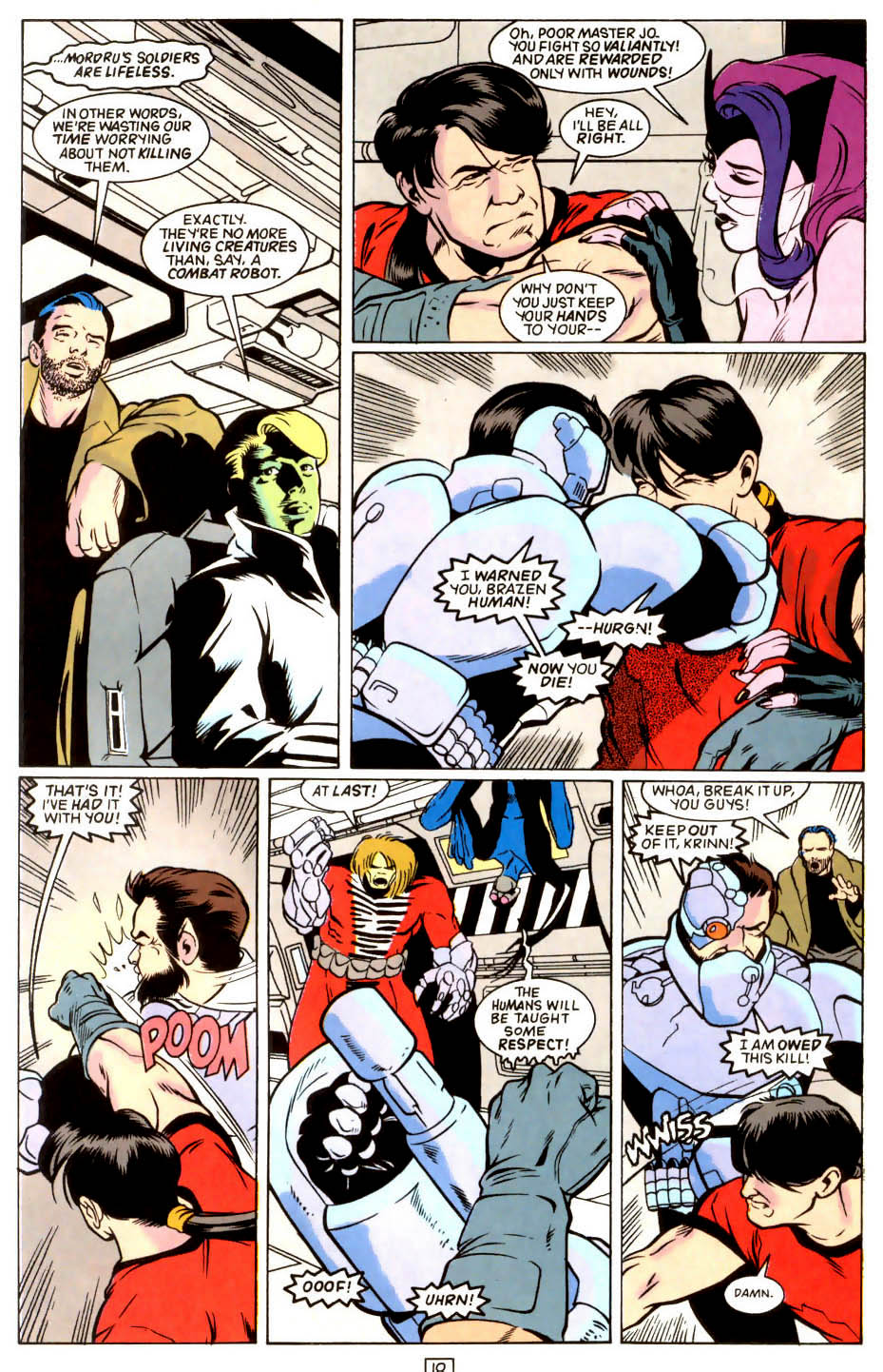 Legion of Super-Heroes (1989) 45 Page 9