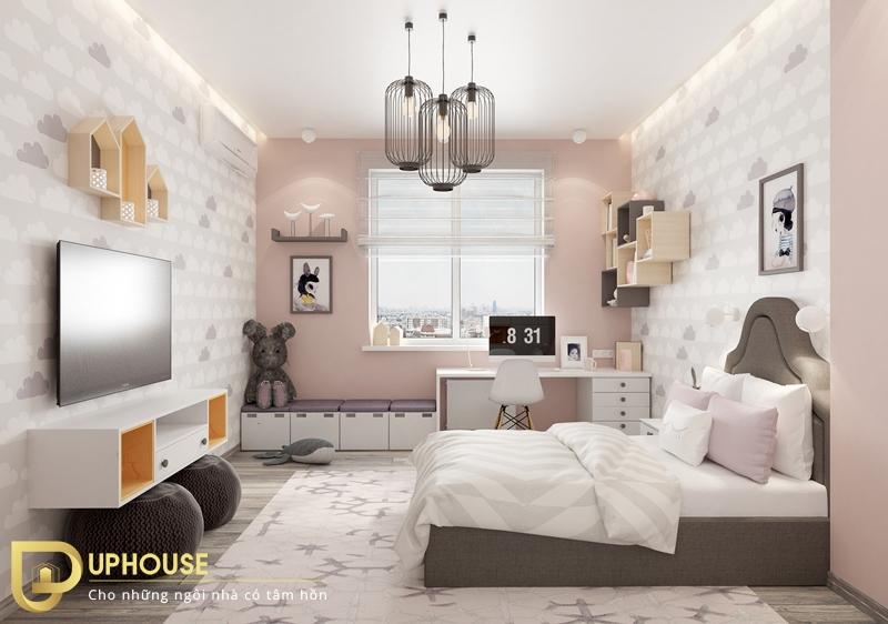 Phòng ngủ phong cách tân cổ điển 09