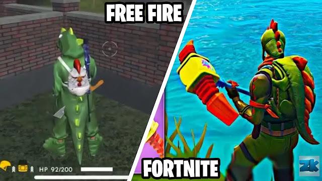 Principales diferencias entre Fornite y FreeFire