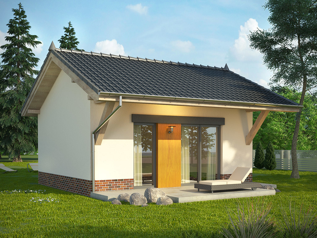 It does not matter if our house is small, what important is we can make it a home. So if you are looking for cute but attractive house design, you are on the right page! Below is a compilation of small beautiful house design from dom.pl, a website from Poland. These houses are attractive and very good choice for a single living or for couples without children. But as what the title implies, you can even design your own floor plan, using this house styles to make more bedroom for a small family.  A Small house means, small construction and labor cost. Small electric and water bills and easy to maintain as well. If you are a minimalist, the following houses are also good for you. Scroll down below and see what we've got for a home lover like you!
