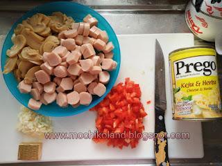 Macaroni Cheese Goreng, makaroni cheese, cara masak macaroni prego keju & herba