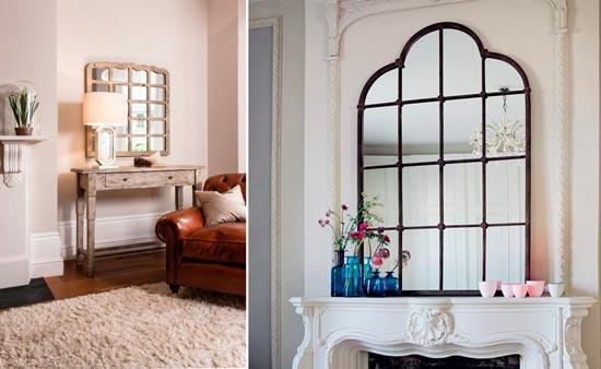 Blog de mbar muebles decora tu casa con magn ficos espejos ventana - Formas de espejos ...