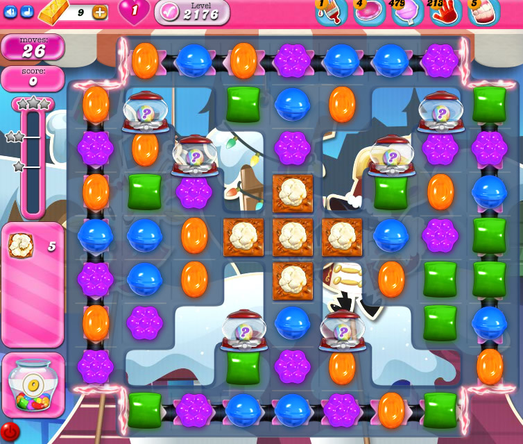 Candy Crush Saga level 2176