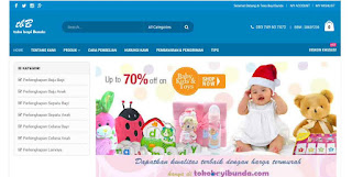 website toko bayi dari jombang lewat pc/laptop