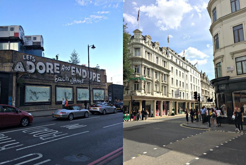 Mittwochs mag ich, London, Bond Street, East London, Shoreditch, Ausgehtipps Wochenendtipps London, Kurztrip
