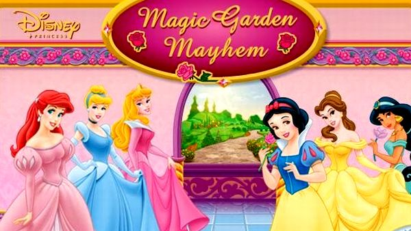 Play Disney Princess Magic Garden Mayhem game