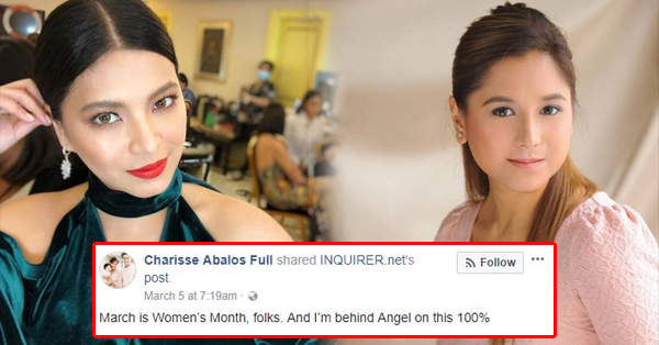 Mandaluyong Councilor Charisse Abalos Supports Angel Locsin Over The PGT Clash