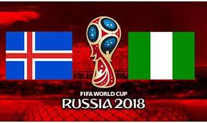 مباراة نيجيريا وايسلندا اليوم فى كاس العالم 2018