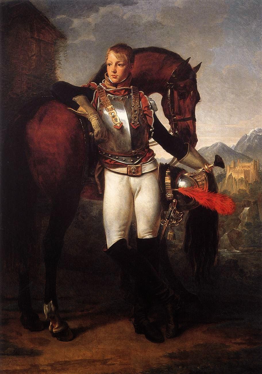 ritratto del sottotenente Charles Legrand