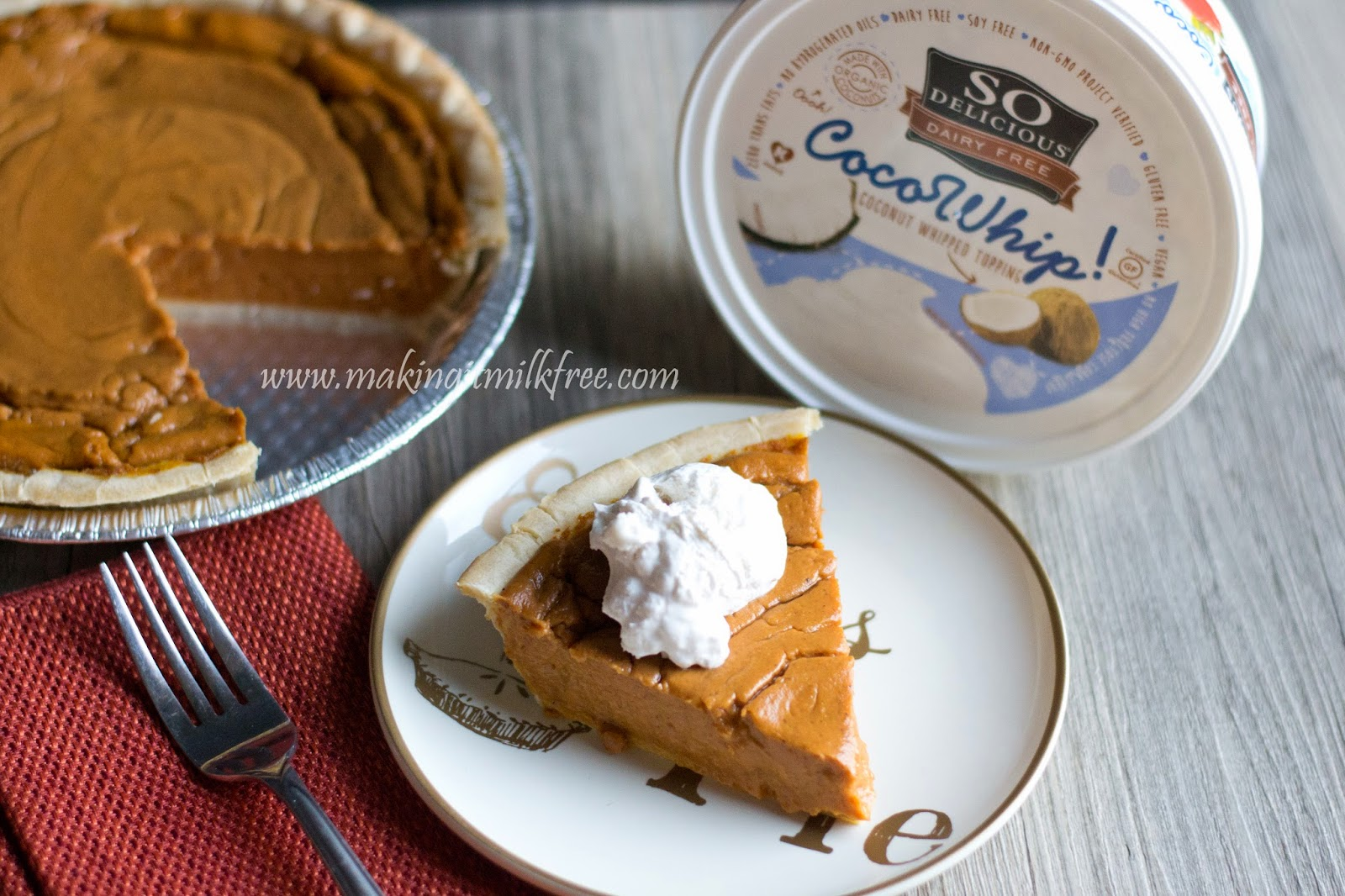 #dairyfree #glutenfree #vegan #pumpkin #pie #thanksgiving