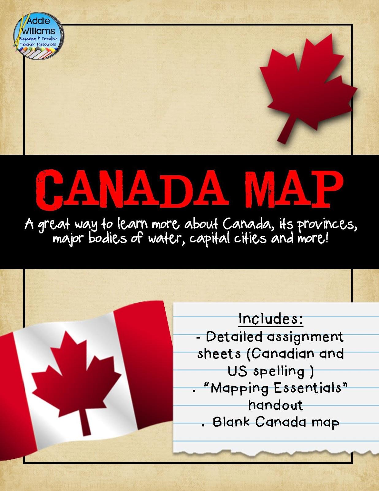 Classroom Freebies Too Happy Canada Day Eh