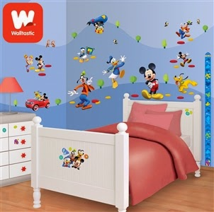 Disney Mickey Mouse Clubhouse Room Décor Kit
