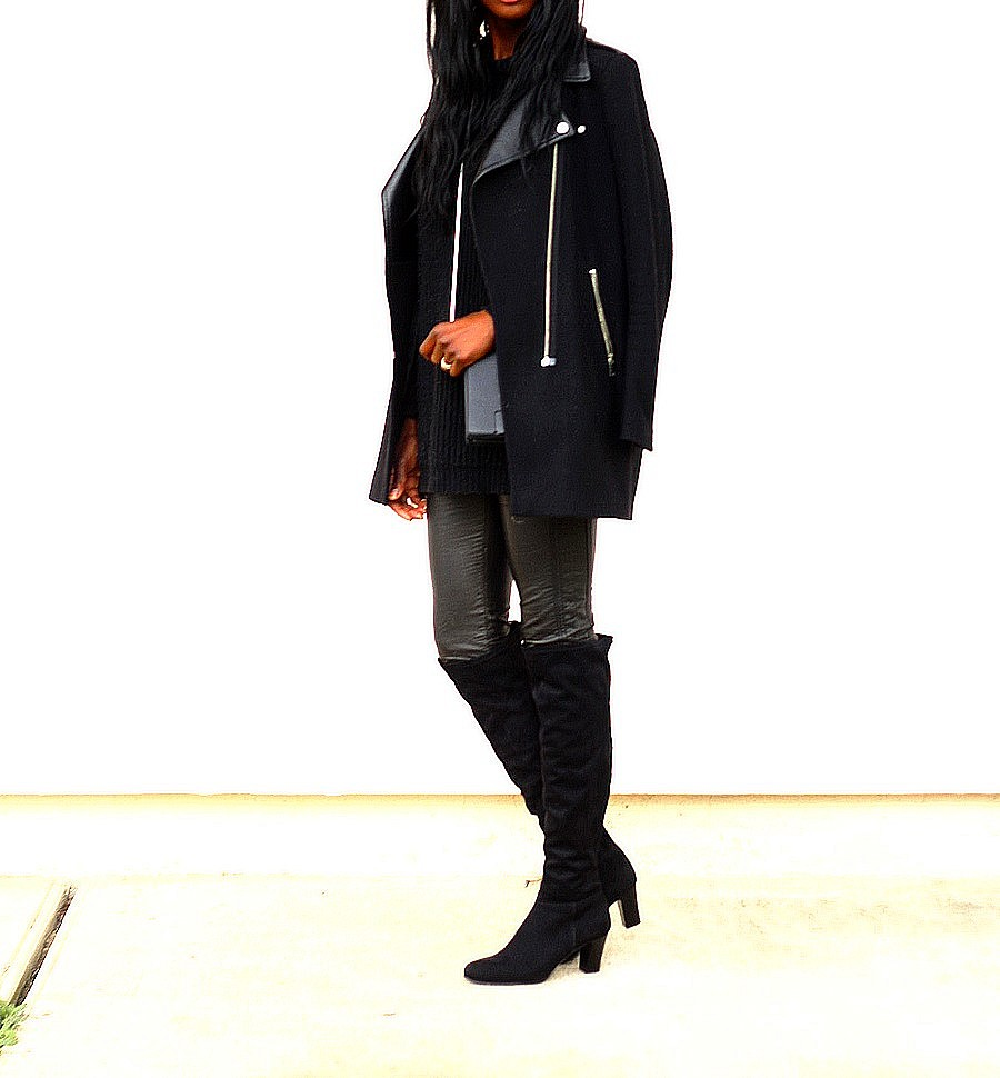 outfit-biker-coat-leather-leggings-overknees-style