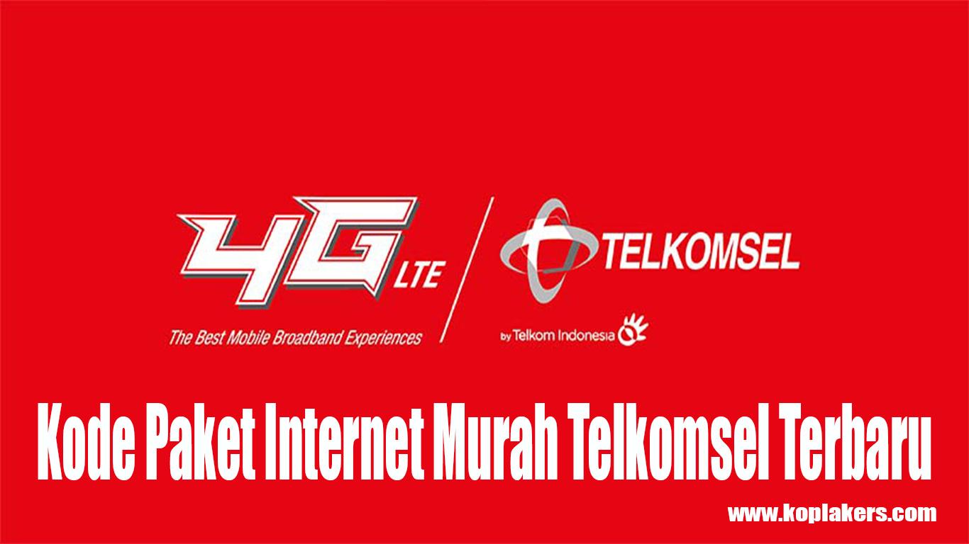 Daftar Kode Paket Internet Murah Telkomsel Terbaru 2gb Hanya 6000 12gb