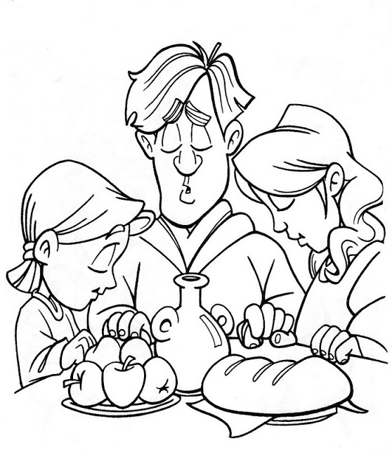 Dibujos Para Colorear Comer Imagenes Para Colorear Del