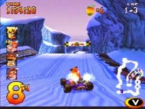 Imagem Crash Team Racing 1999 Ps1 e Ps2 Download Grátis JSV