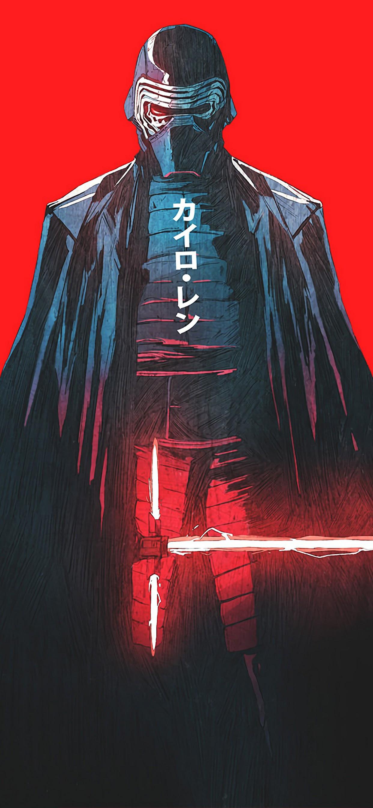 Kylo Ren Lightsaber Star Wars Sci Fi 4k 3840x2160 Wallpaper 26