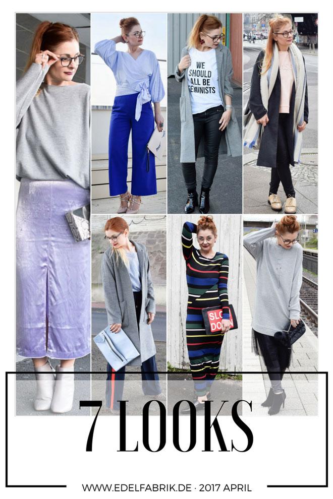 Verschiedene Outfits Ü40 Frau