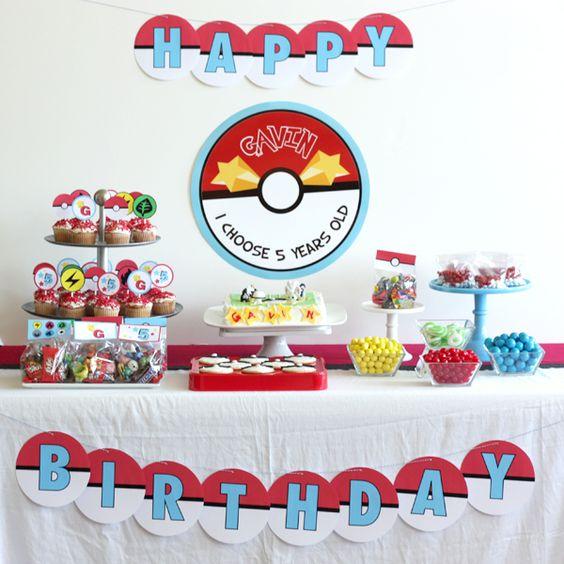 ideias para festa tema pokemon go decora o bolo. Black Bedroom Furniture Sets. Home Design Ideas