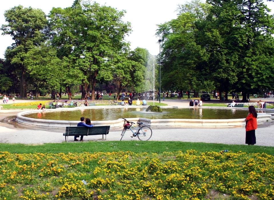 Parque Giardini Pubblici di Porta Venezia em Milão