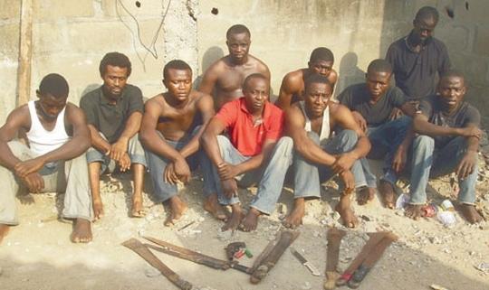 black axe arrested mushin lagos