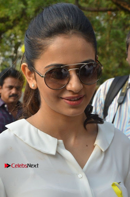 Actress Rakul Preet Singh at Endometriosis Awareness Walk at Apollo Cradle  0002.jpg