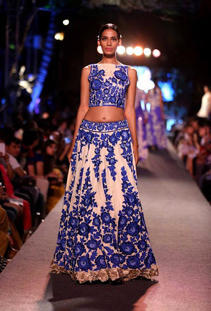 Crop Top LehengaBy Manish Malhotra