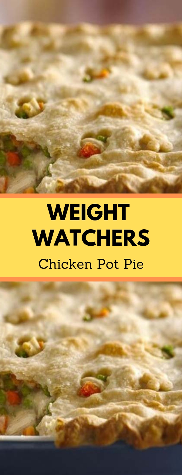 Weight Watchers Chicken Pot Pie #weightwatcher #chicken #maincourse