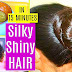 Silky Hair Tips; How To Get Soft, Silky, Shiny And Straight Hair Within Minutes