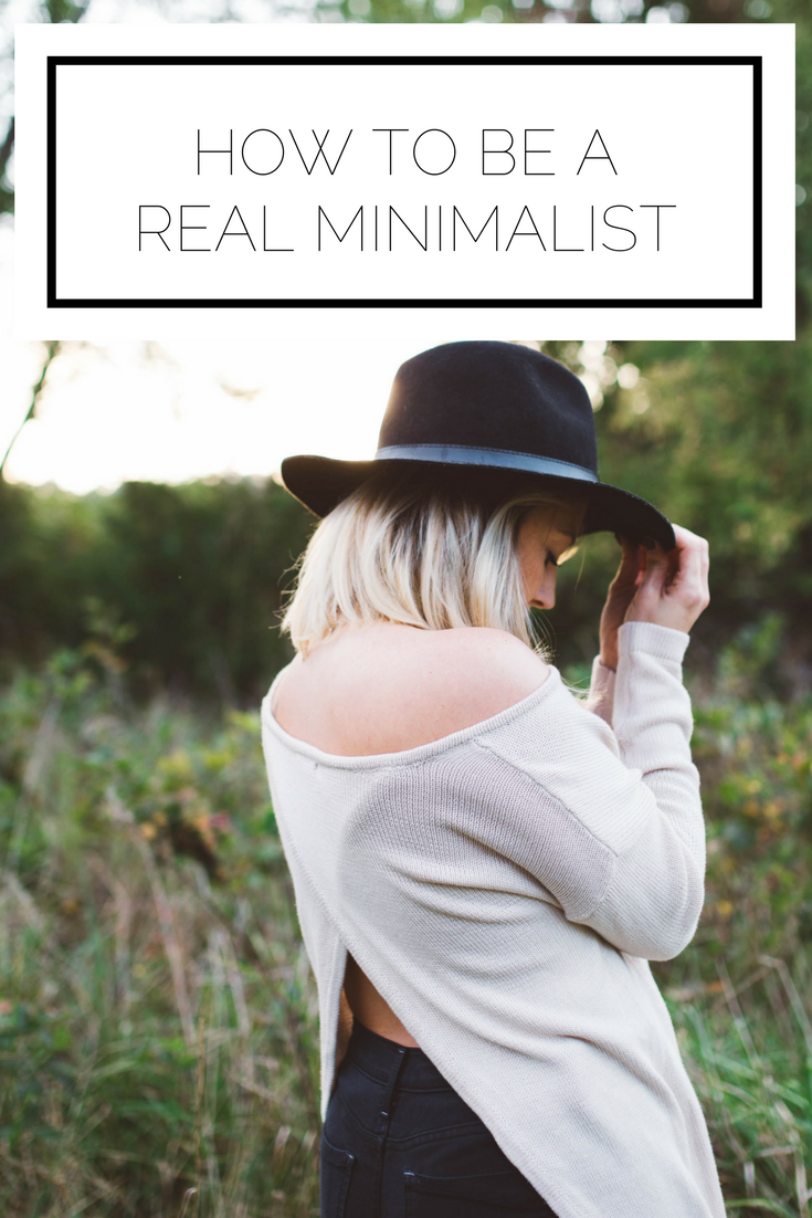 Click to check this out now or pin to save for later! Ever wonder what it takes to be a real minimalist? This satire piece will tell you all about it