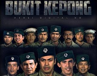 Filem Bukit Kepong (1981) Lakonan Jins Shamsuddin, kisah pasal polis lawan komunis pada 1950, balai polis bukit kepong dibakar oleh komunis,