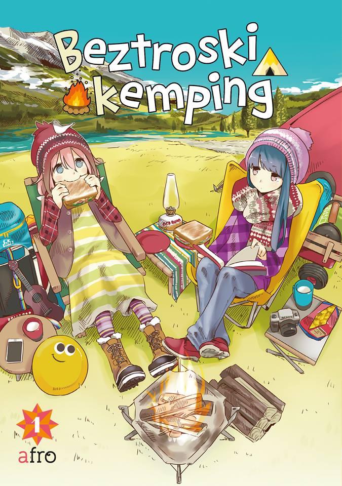 Namiot z widokami na lekką komedię - recenzja mangi Beztroski kemping (tom 1)