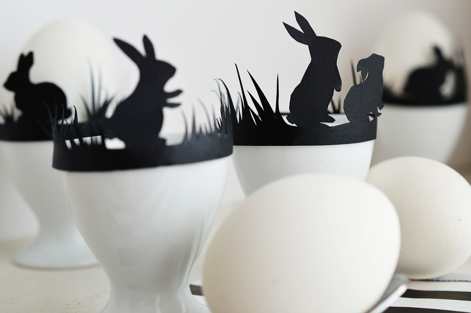 DIY Easter Egg Cup Silhouette Band   Motte's Blog