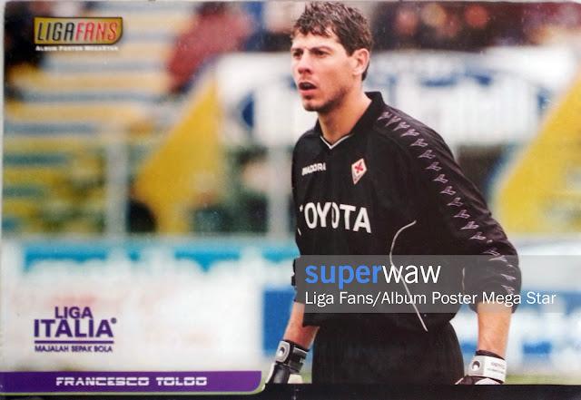 Poster Francesco Toldo (Fiorentina)