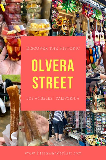 Olvera Street Life in Wanderlust