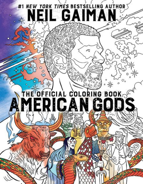 or you might be interested in the american gods coloring book - Gothic Coloring Book