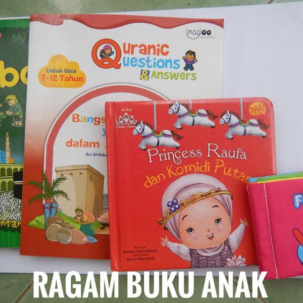 Mengenalkan Ragam Buku pada Anak
