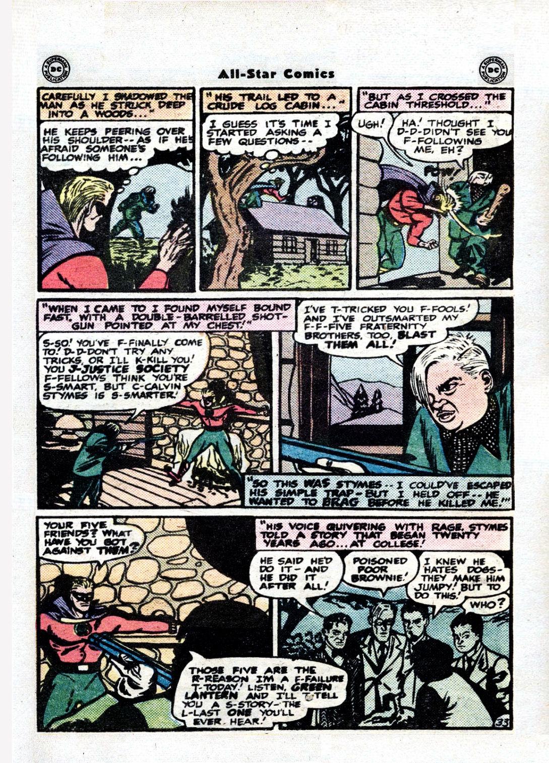 Read online All-Star Comics comic -  Issue #36 - 44