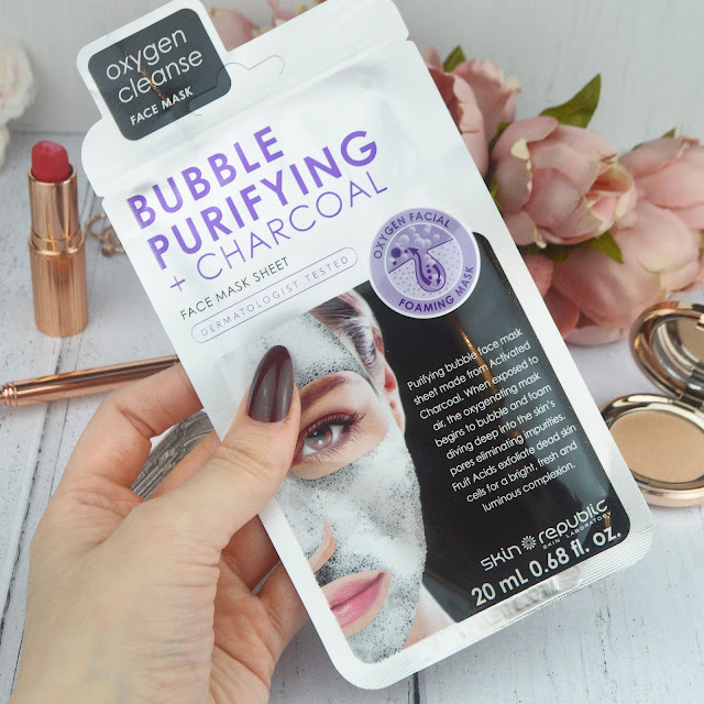 Lovelaughslipstick Blog - HD Beauty Brow Define, Skin Republic Charcoal Bubble Purifying Sheet Mask & Nouveau Lashes Brow & Lash Conditioning Serum Review