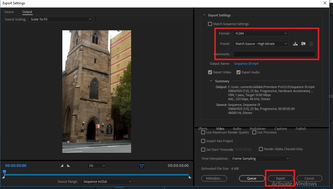 Cara Edit Video Vertical Igtv Menggunakan Adobe Premiere Cinematic