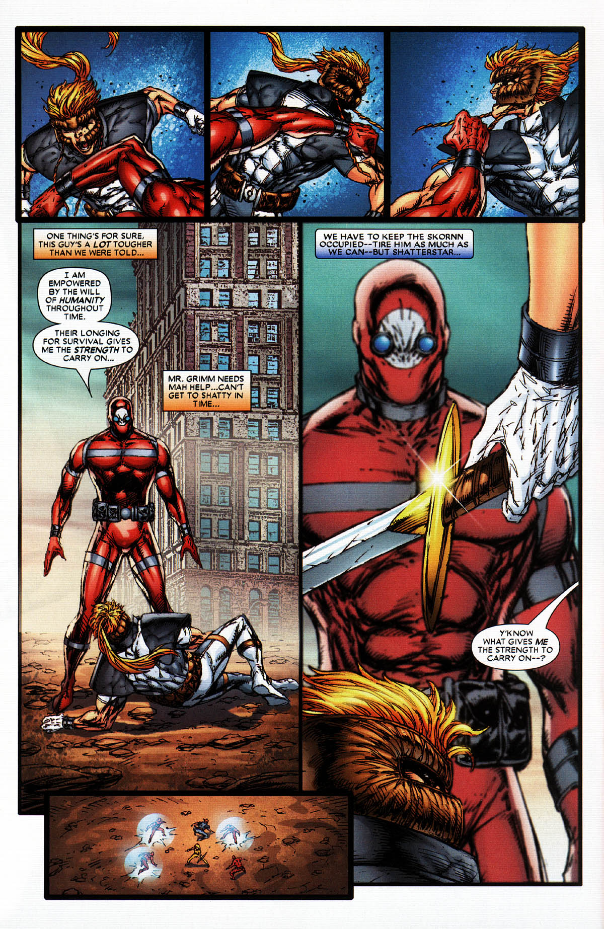 Read online X-Force (2004) comic -  Issue #6 - 19