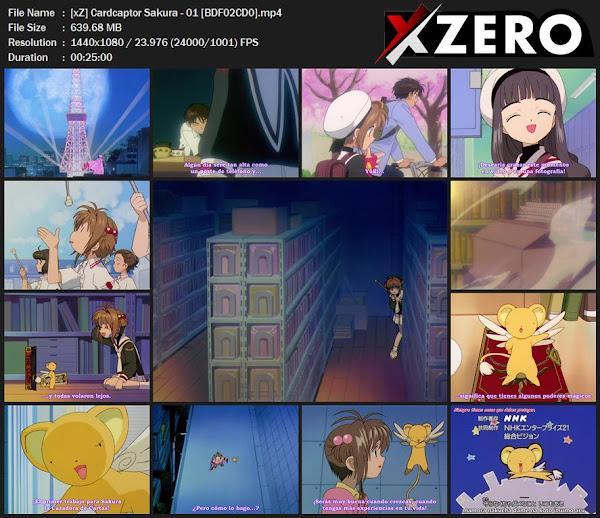 Capturas de Cardcaptor Sakura