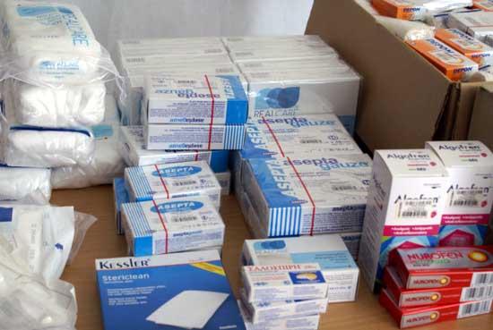 Θεσπρωτία: Δωρεά στο Κοινωνικό Φαρμακείο του Δήμου Ηγουμενίτσας από το Κοινωνικό Φαρμακείο του Δήμου Ιωαννιτών