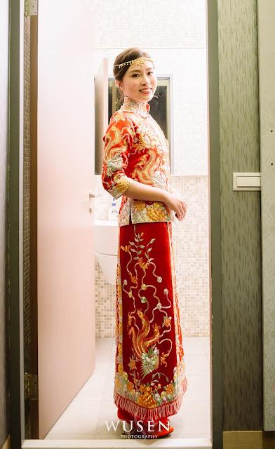 彰化婚禮,龍鳳褂,大中華美食館,和美婚宴場地,御囍