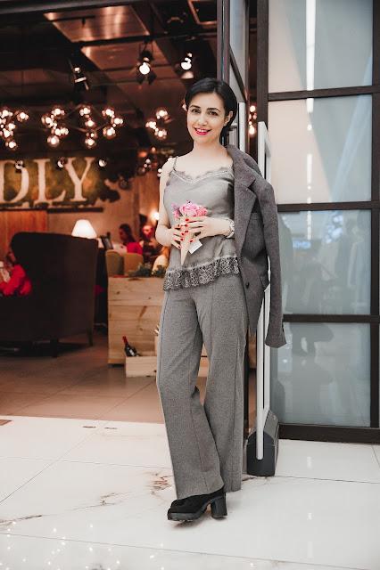 Монохромный тренд, мода, модный тренд, летний тренд, модный блогер, как носить серый пиджак, фешн блогер, Анна Мелкумян, Anna Melkumian, total-look